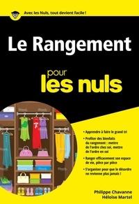 Philippe Chavanne - Le Rangement pour les nuls.