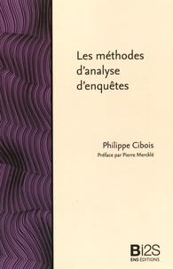 Philippe Cibois - Les méthodes d'analyse d'enquêtes.
