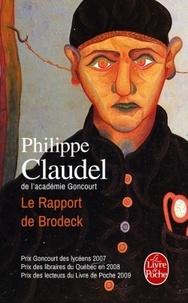 Téléchargement gratuit de livres sur le marché des actions Le rapport de Brodeck (Litterature Francaise) 9782253125723