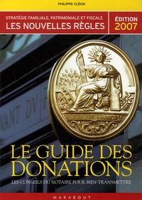 Le guide des donations - Les conseils du notaire pour bien transmettre.pdf
