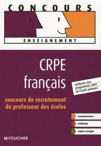 Philippe Clermont et Isabelle Lebrat - CRPE français - Concours de recrutement de professeur des écoles.