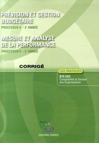 Birrascarampola.it Prévision et gestion budgétaire Processus 8 du BTS CGO ; Mesure et analyse de la performance Processus 9 du BTS CGO - Corrigé Image
