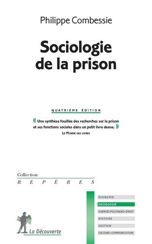 Sociologie de la prison 4e édition