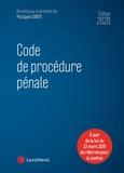 """Philippe Conte - Code de procédure pénale - Avec le livret """"Les 60 ans du Code de procédure pénale"""" offert."""