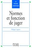 Philippe Coppens - Normes et fonction de juger.