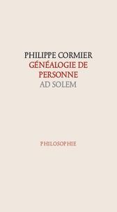 Philippe Cormier - Généalogie de personne.
