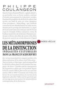 Philippe Coulangeon - Les métamorphoses de la distinction.