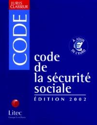 Corridashivernales.be Code de la sécurité sociale 2002. 3ème édition Image