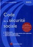 Philippe Coursier - Code de la sécurité sociale 2013.
