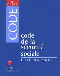 Code de la sécurité sociale. 4ème édition 2003.pdf