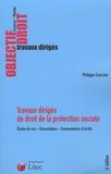Philippe Coursier - Travaux dirigés de droit de la protection sociale.