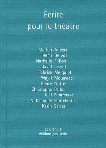 Philippe Coutant - Ecrire pour le théâtre.