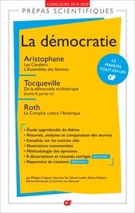 Amazon télécharger des livres en ligne La démocratie  - Aristophane, Les Cavaliers ; L'Assemblée des femmes ; Tocqueville, De la démocratie en Amérique (tome II, partie IV) ; Roth, Le Complot contre l'Amérique