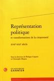 Philippe Crignon et Christophe Miqueu - Représentation politique et transformations de la citoyenneté - XVIIe-XXIe siècle.