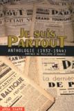 Philippe d' Hugues - Je suis partout - Anthologie (1932-1944).