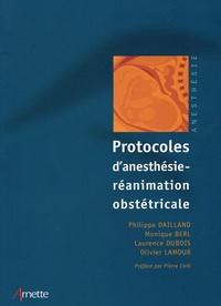 Deedr.fr Protocoles d'anesthésie-réanimation obstétricale Image