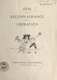 Philippe Dalcher et Eugène Karleskind - Fête de la reconnaissance et de la Libération - Boofzheim-Friesenheim, 7 septembre 1947.