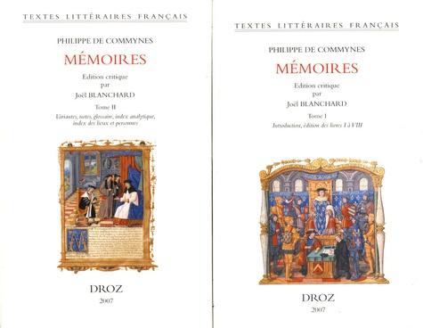Mémoires. 2 volumes