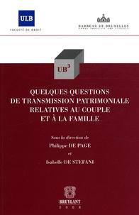 Quelques questions de transmission patrimoniale relatives au couple et à la famille.pdf