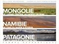 Philippe Decressac - Terres authentiques - Carnets photographiques. Mongolie, Namibie, Patagonie.