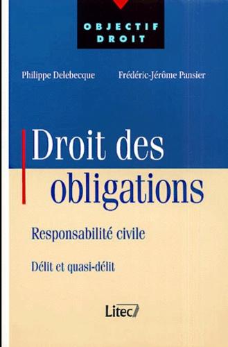 Philippe Delebecque et Frédéric-Jérôme Pansier - .