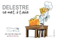 Philippe Delestre et Pascal Baudoin - Delestre se met a table.