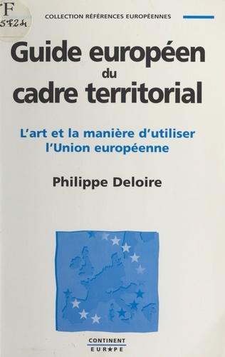 Guide européen du cadre territorial