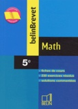 Philippe Depresle et Angélique Skandalis - Math 5e.
