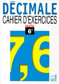MATHEMATIQUE 6EME DECIMALE. Cahier dexercices.pdf