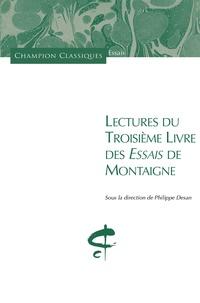 Histoiresdenlire.be Lectures du troisième livre des Essais de Montaigne Image