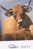 Philippe Deschamps et Laurence Barruel - Fous de vaches - Calendrier 2011.
