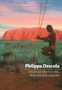 Philippe Descola - Diversités des natures, diversités des cultures.
