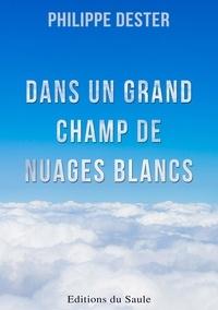 Philippe Dester - Dans un grand champ de nuages blancs.
