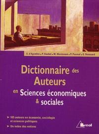 Philippe Deubel et Marc Montoussé - Dictionnaire des auteurs en Sciences économiques & sociales.