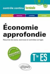 Philippe Deubel - Economie approfondie terminale Tle ES.