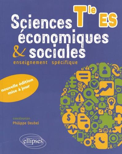 Sciences  U00e9conomiques Et Sociales Tle Es De Philippe Deubel