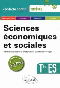 Philippe Deubel et Dominique Szczesny - Sciences économiques et sociales Tle ES.
