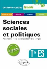 Philippe Deubel - Sciences sociales et politiques Tle ES.