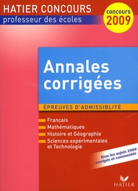 Philippe Dorange et Claude Puidoyeux - Annales corrigées CRPE Session 2008 - Epreuves d'admissibilité.