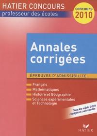 Philippe Dorange et Claude Puidoyeux - Annales corrigées - Session 2009.