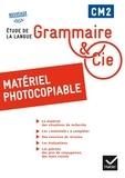 Philippe Dorange et Jean-Christophe Pellat - Grammaire & Cie CM2 - Matériel photocopiable.