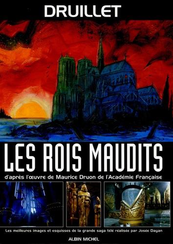 Philippe Druillet - Les Rois maudits - Les meileures images et esquisses de la grande saga télé réalisée par Josée Dayan.