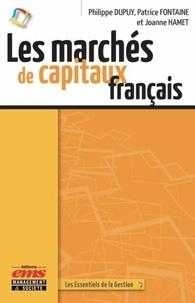 Les marchés de capitaux français - Philippe Dupuy |