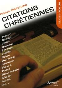 Philippe Engelhard - Citations chrétiennes.