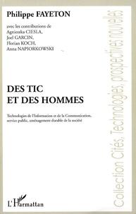 Philippe Fayeton - Des TIC et des Hommes - Technologies de l'Information et de la Communication, services publics, aménagement durable de la société.