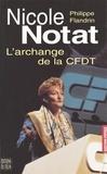 Philippe Flandrin - Nicole Notat - L'archange de la CFDT.