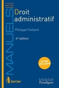 Philippe Foillard - Droit administratif.