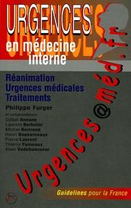 Philippe Furger - Urgences@méd.fr - Réanimation, urgences médicales, traitements.