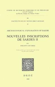 Philippe Gauthier - Nouvelles inscriptions de Sardes II.