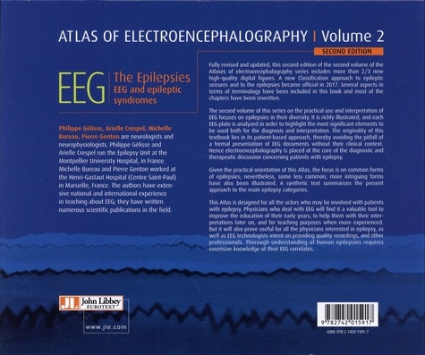 Atlas of Electroencephalography. Volume 2, The Epilepsies, EEG and Epileptic Syndromes 2nd edition